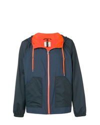 Santoni Two Tone Windbreaker Jacket
