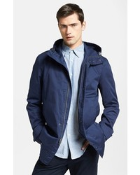 Vince Water Resistant Coated Canvas Jacket Large