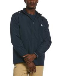 Original Penguin Water Resistant Hooded Jacket