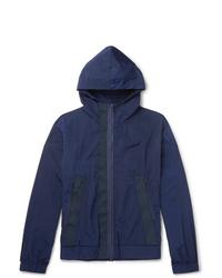 Barena Webbing Trimmed Shell Hooded Jacket