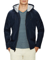Wind And Water Resitant Hooded Jacket