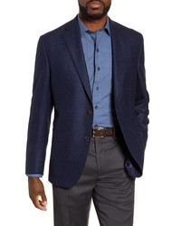 David Donahue Aiden Classic Fit Solid Wool Sport Coat