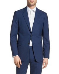 Theory Chambers Slim Fit Stretch Wool Blazer