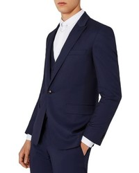 Topman Charlie Casely Hayford X Skinny Fit Twill Suit Jacket