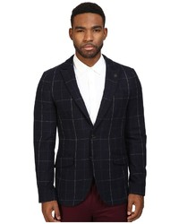 Scotch & Soda Classic Blazer With Peak Lapel In Wool Quality Jacket