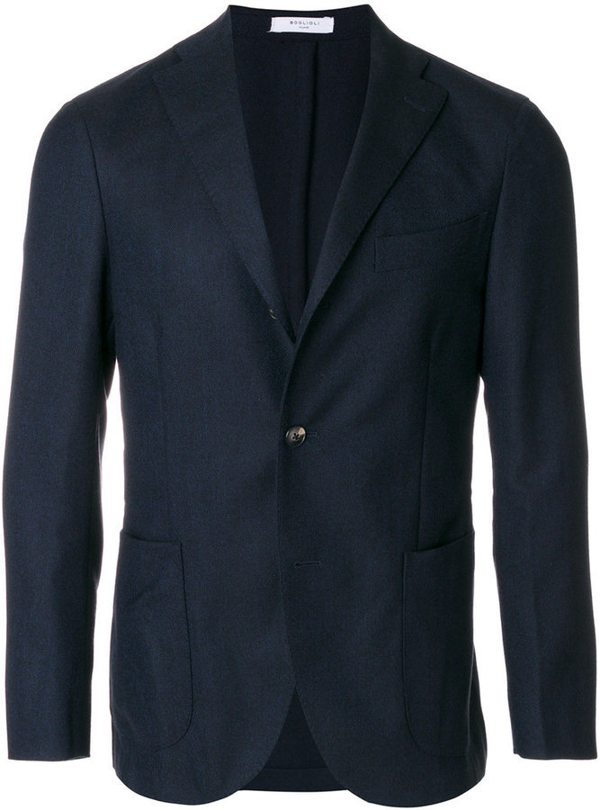 Boglioli Classic Tailored Suit Jacket