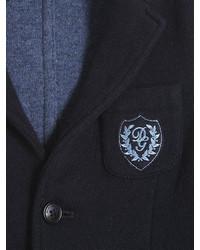 Dolce & Gabbana Bonded Wool Blend Milano Jersey Blazer