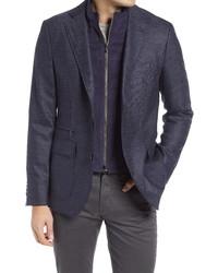 Robert Graham Downhill Xiv Tailored Fit Wool Cashmere Sport Coat