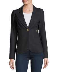 Duchess single button wool blazer medium 968203