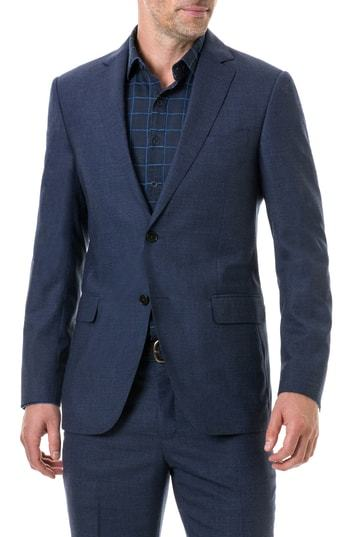Rodd & Gunn Egmont Village Regular Fit Wool Travel Blazer