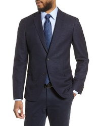 BOSS Fit Birds Eye Wool Blazer