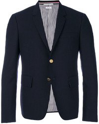 Thom Browne High Armhole Single Breasted Sport Coat In 2 Ply Fresco