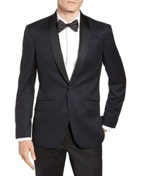 Ted Baker London Josh Trim Fit Shawl Collar Wool Dinner Jacket