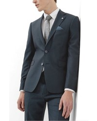Ted Baker London Debonair Trim Fit Solid Wool Sport Coat