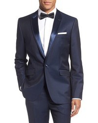 Ted Baker London Pashion Trim Fit Wool Mohair Dinner Jacket