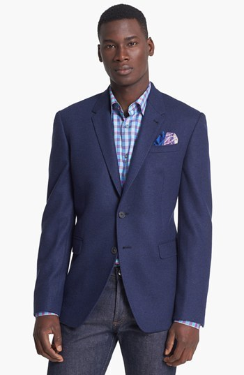 Paul Smith London Wool Jersey Blazer