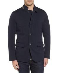 Herno Lp High Tenacity Storm Wool Blend Blazer