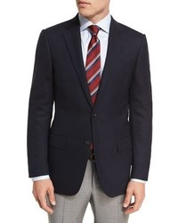 Ermenegildo Zegna Milano Easy Fit Cool Effect Wool Sport Coat Navy