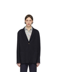 Paul Smith Navy Gents Two Button Blazer
