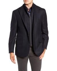 Regular fit wool cashmere hybrid sport coat medium 8576518