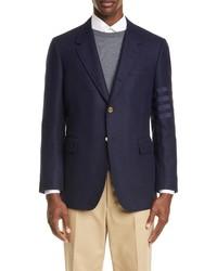 Thom Browne Sleeve Stripe Wool Sport Coat