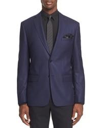 John Varvatos Star Usa Trim Fit Wool Blazer