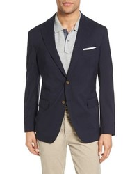 Eleventy Trim Fit Wool Blazer