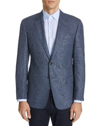 Emporio Armani Trim Fit Wool Blend Sport Coat