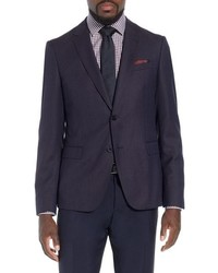 BOSS X Nordstrom Nobis Trim Fit Wool Blazer