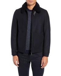 Ted Baker London Faux Wool Blend Jacket
