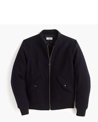 J.Crew Wallace Barnes Wool Ma 1 Bomber Jacket