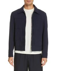 DEVEAUX Wool Trucker Jacket