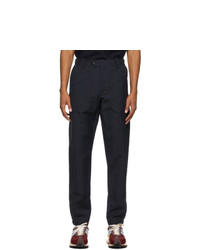 Lanvin Navy Slim Fit Trousers