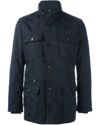Eleventy Front Pocket Coat