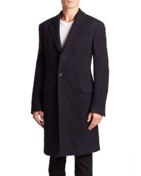 Salvatore Ferragamo Long Sleeve Wool Coat