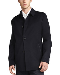 Ermenegildo Zegna Ortiz Reversible Car Coat Navy