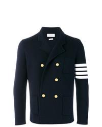 4 bar stripe double breasted merino wool sport coat medium 7638593