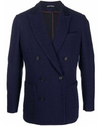 Canali Double Breasted Wool Blazer