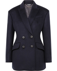 Alexander McQueen Double Breasted Wool Blazer