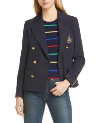 Polo Ralph Lauren Double Breasted Wool Blend Jacket