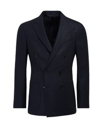 Suitsupply Wool Double Breasted Sport Coat
