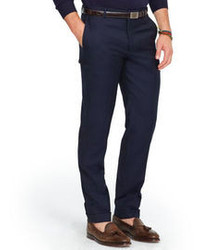 Navy Wool Dress Pants