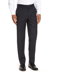 Nordstrom Big Tall Shop Flat Front Wool Trousers