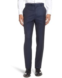 Ted Baker London Pashion Flat Front Wool Mohair Trousers