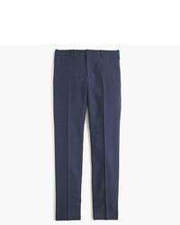 Ludlow suit pant in birds eye italian wool medium 775868