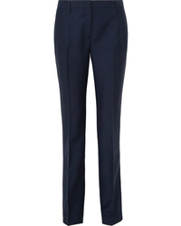 Prada Mohair And Wool Blend Straight Leg Pants