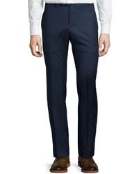 Gucci Monaco Wool Trouser Pants Dark Blue