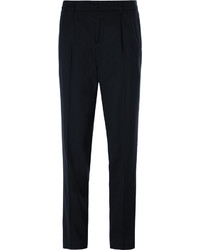 Balmain Stretch Wool Twill Trousers
