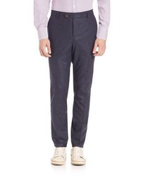 Brunello Cucinelli Wool Flannel Trousers