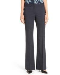 Classiques Entier Sienna Flare Leg Stretch Wool Suit Pants